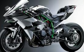 Siêu môtô Kawasaki Ninja H2R có thể đạt vận tốc 337 km/h