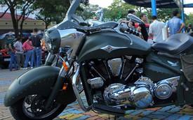 Kawasaki Vulcan phong cách bụi bặm của thợ độ Việt Nam
