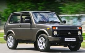 Lada nâng cấp xe SUV 37 tuổi Niva