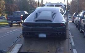 Cảnh sát tịch thu Lamborghini Huracan, cười nhạo trên mạng xã hội