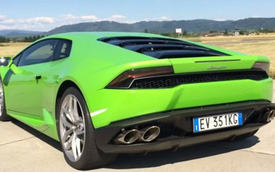Xem siêu xe Lamborghini Huracan đạt vận tốc 340 km/h
