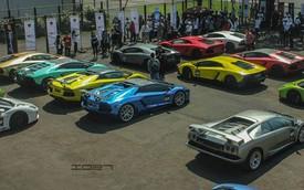 51 siêu xe Lamborghini hội tụ tại Indonesia
