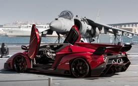 Chiếc Lamborghini Veneno Roadster cuối cùng có giá 7,6 triệu USD