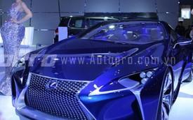 Lexus thừa nhận không thể đánh bại 3 hãng xe sang Đức