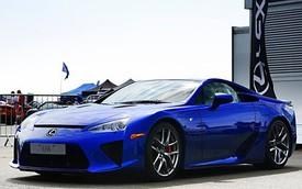 Đã tai với tiếng pô của Lexus LFA trên đường thử Top Gear
