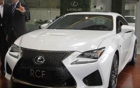 Xe thể thao hạng sang Lexus RC F cập bến Đông Nam Á