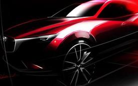 Mazda CX-3 lần đầu tiên lộ diện, cạnh tranh với Honda HR-V