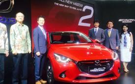 Mazda2 thế hệ mới chính thức được giới thiệu tại Đông Nam Á