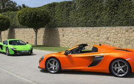 McLaren 650S – Siêu xe tốt nhất tại thị trường nhà giàu Trung Đông