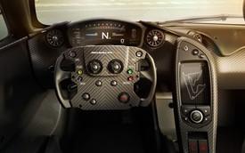 Nội thất đơn giản mà ấn tượng của siêu xe McLaren P1 GTR