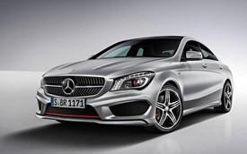 Xe mới về Việt Nam Mercedes-Benz CLA250 có thêm gói phụ kiện