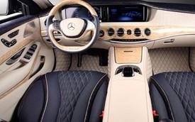 Mercedes-Benz S600 Guard chống đạn có thêm nội thất da cá sấu