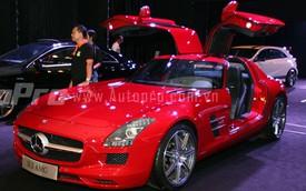 Siêu xe Mercedes-Benz SLS AMG trị giá 11,8 tỷ Đồng đến Hà Nội