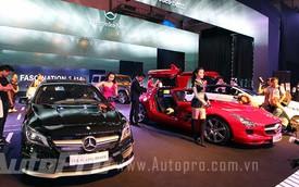 Mercedes-Benz trưng bày dàn xe 60 tỷ Đồng tại Hà Nội