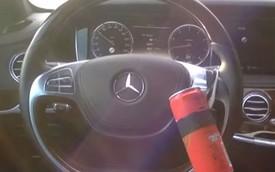 Biến Mercedes-Benz S-Class thành xe tự lái bằng lon soda