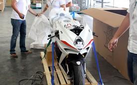 Chiêm ngưỡng siêu môtô MV Agusta F4 RR 2014 mới về Sài Gòn