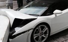 Cận cảnh vụ nhân viên khách sạn phá siêu xe Lamborghini