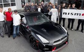 Siêu xe Nissan GT-R Nismo 2015 đầu tiên đến Mỹ