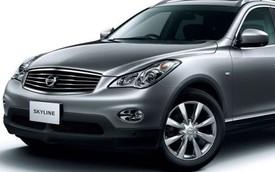 Xe sang Nissan Skyline Crossover 2015 ra mắt