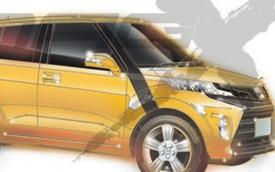 """Toyota """"thai nghén"""" đối thủ của crossover giá rẻ Honda Vezel"""