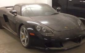 """Siêu xe """"nguy hiểm"""" Porsche Carrera GT bị chủ bỏ rơi"""