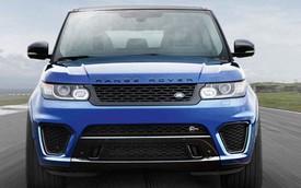 Xe SUV sang mạnh nhất của Land Rover sắp được bày bán