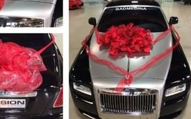 Võ sỹ Floyd Mayweather mua Rolls-Royce Wraith cho bạn gái