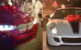 Tiểu thư 16 tuổi được tặng xe Ferrari và BMW trong sinh nhật