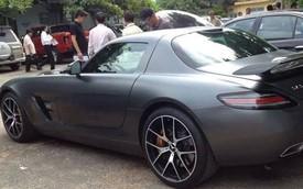 Siêu xe Mercedes-Benz SLS AMG thứ ba tại Việt Nam có biển số