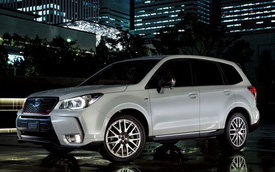 Subaru Forester tS 2015 - Xe SUV mạnh mẽ
