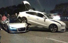 Siêu xe Audi R8 liên tục gặp vận xui