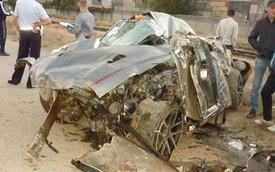 Siêu xe Nissan GT-R nát bét trong tai nạn ở 300 km/h
