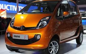 Xe rẻ nhất thế giới Tata Nano có thêm phiên bản tăng áp