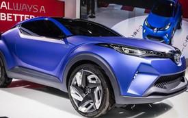 Toyota ra mắt xe crossover cỡ nhỏ hoàn toàn mới