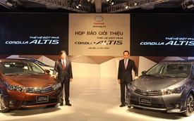 Toyota Corolla Altis 2014 ra mắt, giá từ 757 triệu Đồng