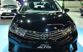 Toyota Corolla Altis phiên bản thể thao hơn trình làng