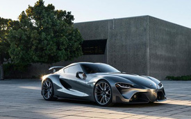 Xe thể thao chung của Toyota và BMW đắt hơn Chevrolet Corvette