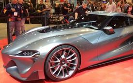 Toyota FT-1 Graphite – Hình ảnh xem trước của xe thể thao Supra mới
