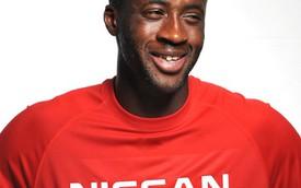 Sao bóng đá Yaya Toure trở thành đại sứ thương hiệu của Nissan
