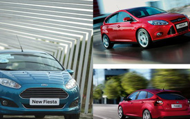 Ford Fiesta và Focus: hai lựa chọn phong cách cho người trẻ