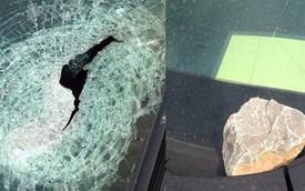 Thực hư việc ô tô bị ném gạch đá ở cao tốc Hà Nội - Thái Nguyên