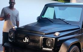 Sao bóng đá Jerome Boeteng độ Mercedes-Benz G63 AMG hầm hố