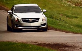 """Rò rỉ Cadillac ATS 2015 sedan với """"bộ mặt"""" cười"""