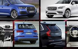 So sánh diện mạo SUV hạng sang Audi Q7 và Volvo XC90