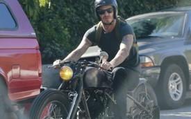 David Beckham gãy tay vì tai nạn môtô