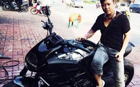 Tuấn Hưng dạo phố với xế độc Ducati Diavel Cromo