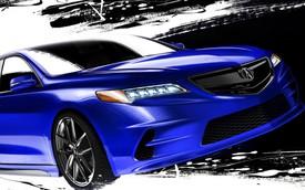 Acura TLX 2015 đến SEMA với diện mạo thể thao và đậm chất xe độ