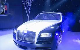 Rolls-Royce Wraith đầu tiên tại Việt Nam có giá gần 19 tỉ đồng