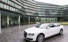 Ảnh sống Audi A8L 2014 tại Hà Nội