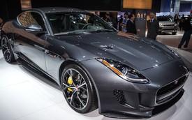 Jaguar F-Type Coupe nhanh hơn đáng kể nhờ hệ dẫn động 4 bánh